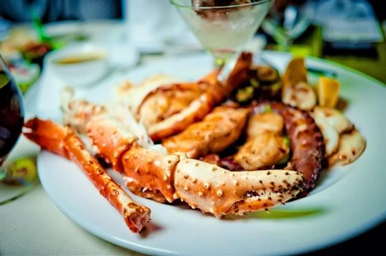 Ресторан Globo - фотография 8 - Краб на ДР)