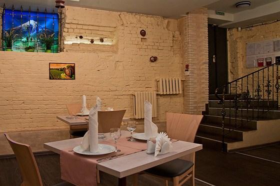 Ресторан Мимино - фотография 4 - Интерьер 1-го зала.