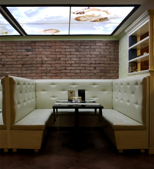 Ресторан Da Pino - фотография 10 - Мягкая зона.