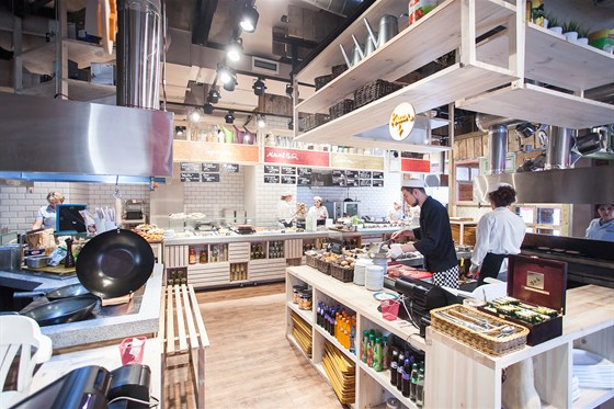 Ресторан Marketplace - фотография 26