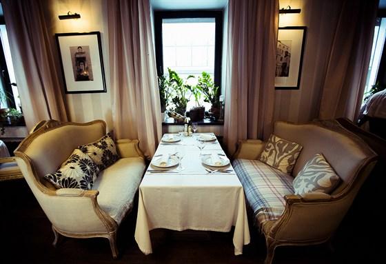 Ресторан Sorbetto - фотография 25 - Гостиная.