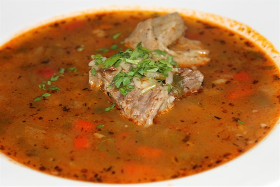 Ресторан Ду-шеш - фотография 8 - суп харчо
