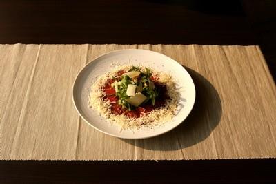 Ресторан Персона - фотография 5 - Корпаччо с говядиной