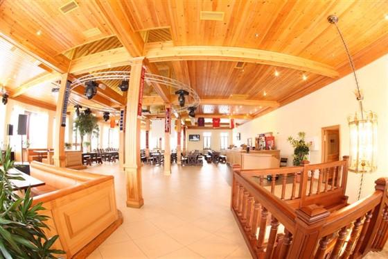 Ресторан Красный кабачок - фотография 10 - Банкетный зал. 2 этаж.