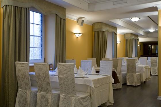 Ресторан Спутник - фотография 6 - Малый банкетный зал