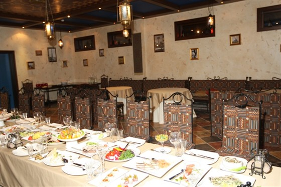 """Ресторан Каланча - фотография 9 - восточный """"Маракеш"""" (50 мест) в КАЛАНЧЕ"""