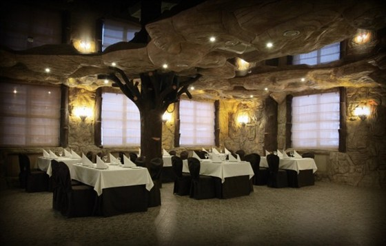 Ресторан Santorini - фотография 2 - Первый этаж ресторана