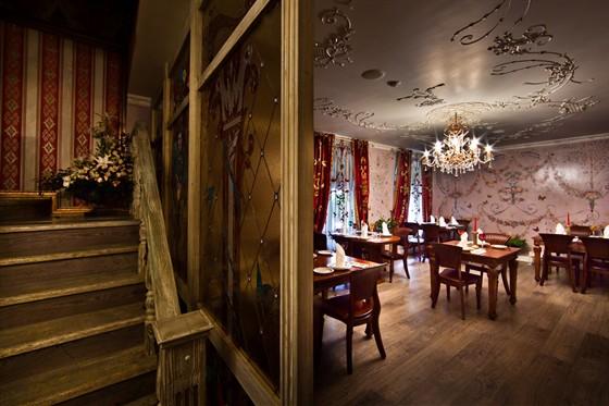Ресторан Gotinaza - фотография 5 - Нижний зал