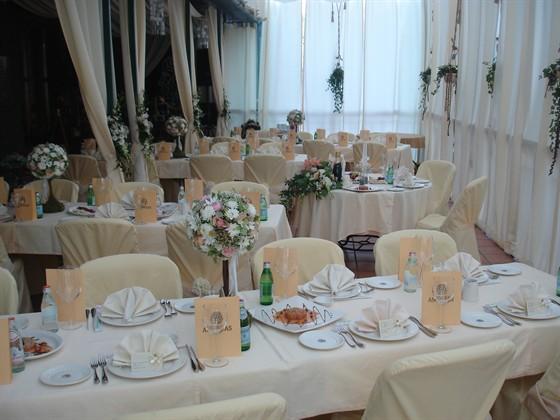 Ресторан Andreas - фотография 9 - Летняя Веранда - Банкет