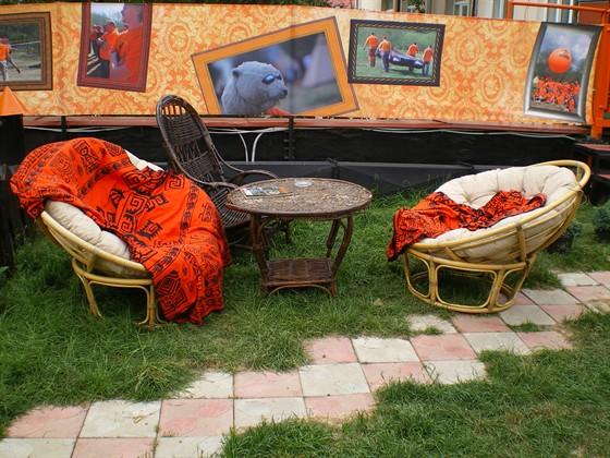 Ресторан Экспедиция. Северная кухня - фотография 10 - Крыша ресторана летом.