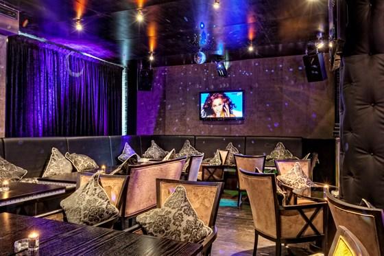 Ресторан Kalina Café - фотография 1 - Караоке зал