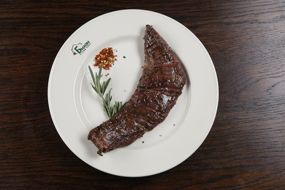 Ресторан Бизон - фотография 1 - стейк Мачете
