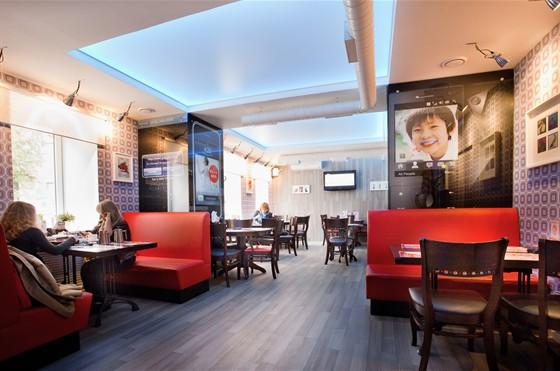 Ресторан Сушимин - фотография 4 - Б. Покровская, 63 СУШИМИН после ремонта сентябрь 2011