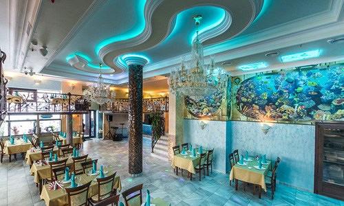 Ресторан Аквариум - фотография 3 - Вид главного зала.