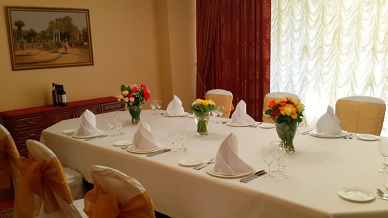 Ресторан Шереметьевский - фотография 14 - зал Тимирязевский на 12 человек