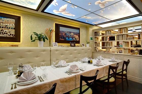 Ресторан Da Pino - фотография 4 - Банкет можно организовать как на 10 человек, так и на 100.