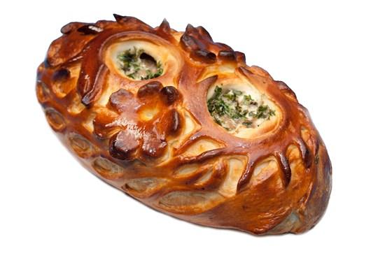 Ресторан Штолле - фотография 7 - Пирог с кроликом и грибами