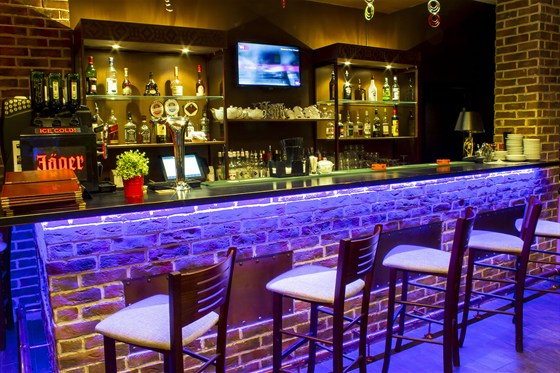 Ресторан Сухой закон - фотография 1 - Верхний зал