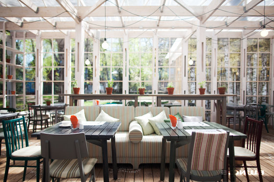 Ресторан Теплица в Нескучном саду - фотография 19
