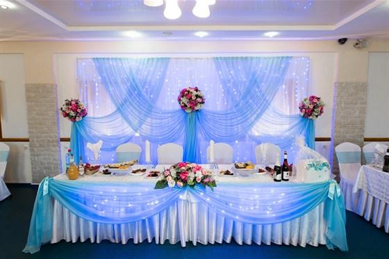 Ресторан Южный - фотография 2 - Свадебный банкет