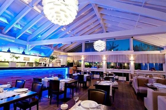 Ресторан Leningrad - фотография 13 - Зимний сад