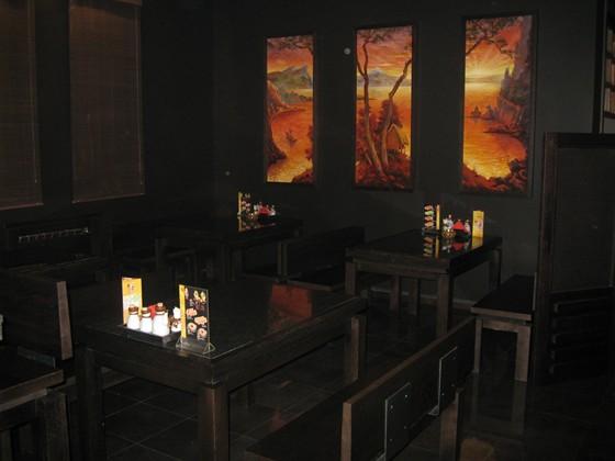 """Ресторан Японский дворик - фотография 3 - зал """"огонь"""""""
