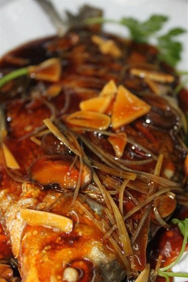 Ресторан Норд стар - фотография 7 - Жареный кап Хун Шао