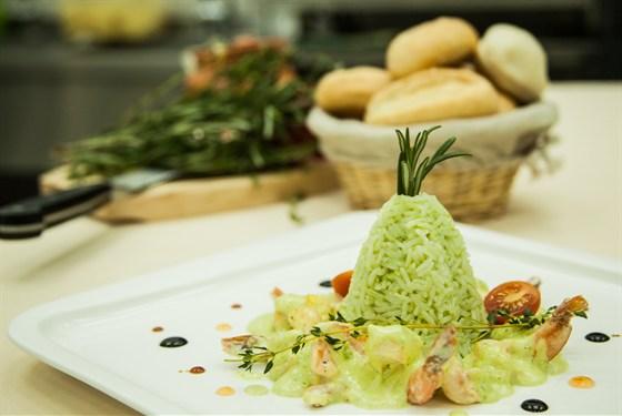 Ресторан La familia - фотография 34 - Креветки в сливочном соусе