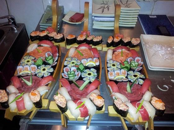 Ресторан Родник - фотография 8 - Суши!