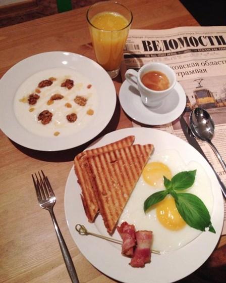 Ресторан Сэндвич-бар - фотография 30 - завтрак