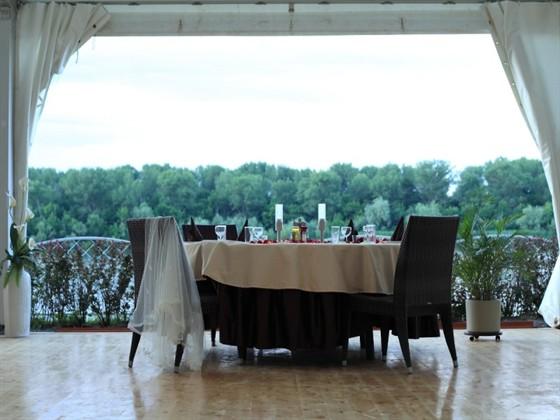 Ресторан Галерея - фотография 5 - вид на Дон из летнего шатра