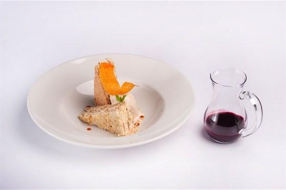 Ресторан 16th Line - фотография 17 - Меню. Эстерхази с супом из черной смородины