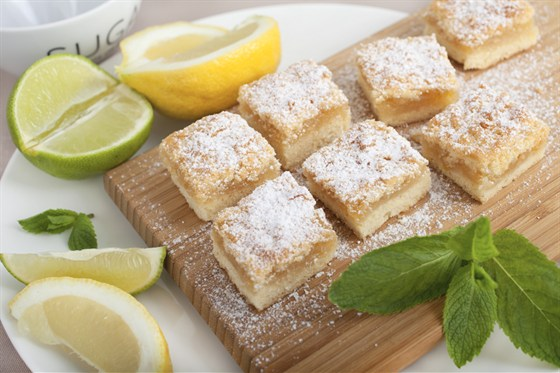 Ресторан Мюнгер - фотография 10 - Лимонное печенье.