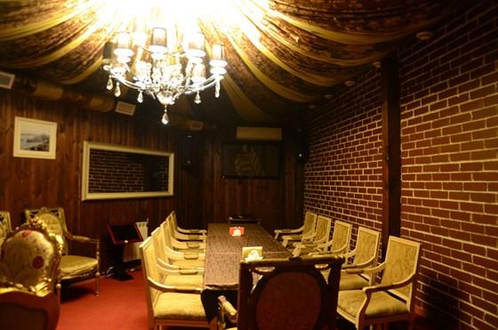 Ресторан Золотой бамбук - фотография 14 - ВИП Кабинет №1 - Максимальное размещение до 28 человек