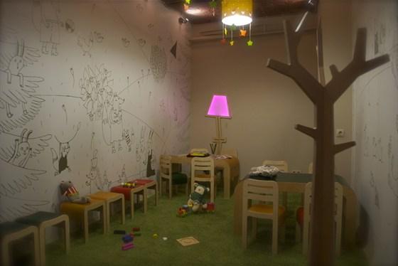 Ресторан Щислива - фотография 23 - Детская комната
