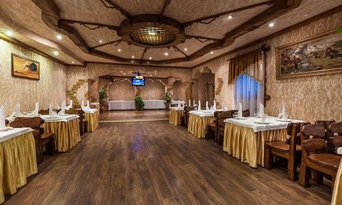 Ресторан Сказка Востока - фотография 14 - Банкетный зал №3 в охотничем стиле.