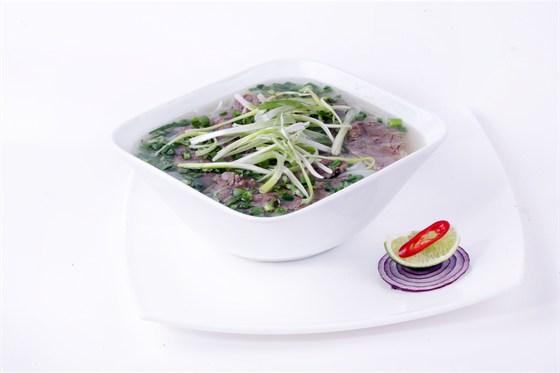 Ресторан Золотой бамбук - фотография 33 - ФО БО Суп Фо с говядиной, телятиной и рисовой лапшой.