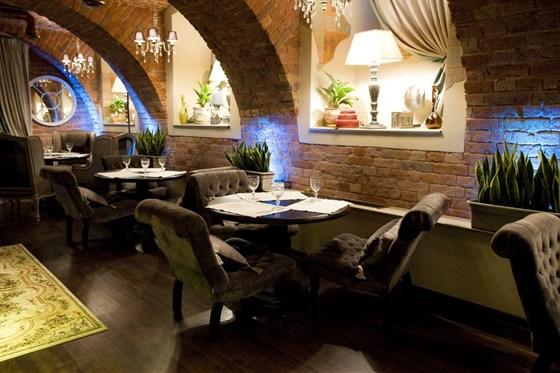 Ресторан Legran - фотография 5 - Барный зал.