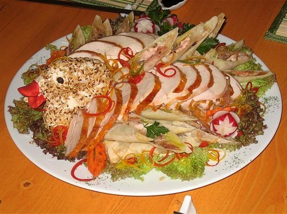 Ресторан Золотая пагода - фотография 6 - Фото одного из блюд