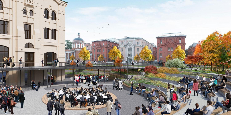 Проект создания Музейного парка наЛубянке утвердили