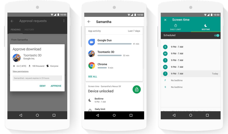 Google запускает приложение Family Link для управления детскими аккаунтами на андроид