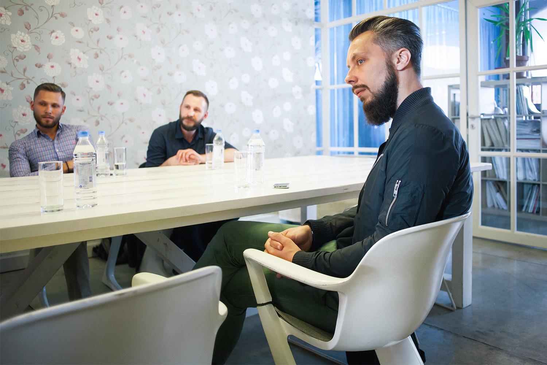 Андрей Шубин, Константин Груздев и Богдан Канука