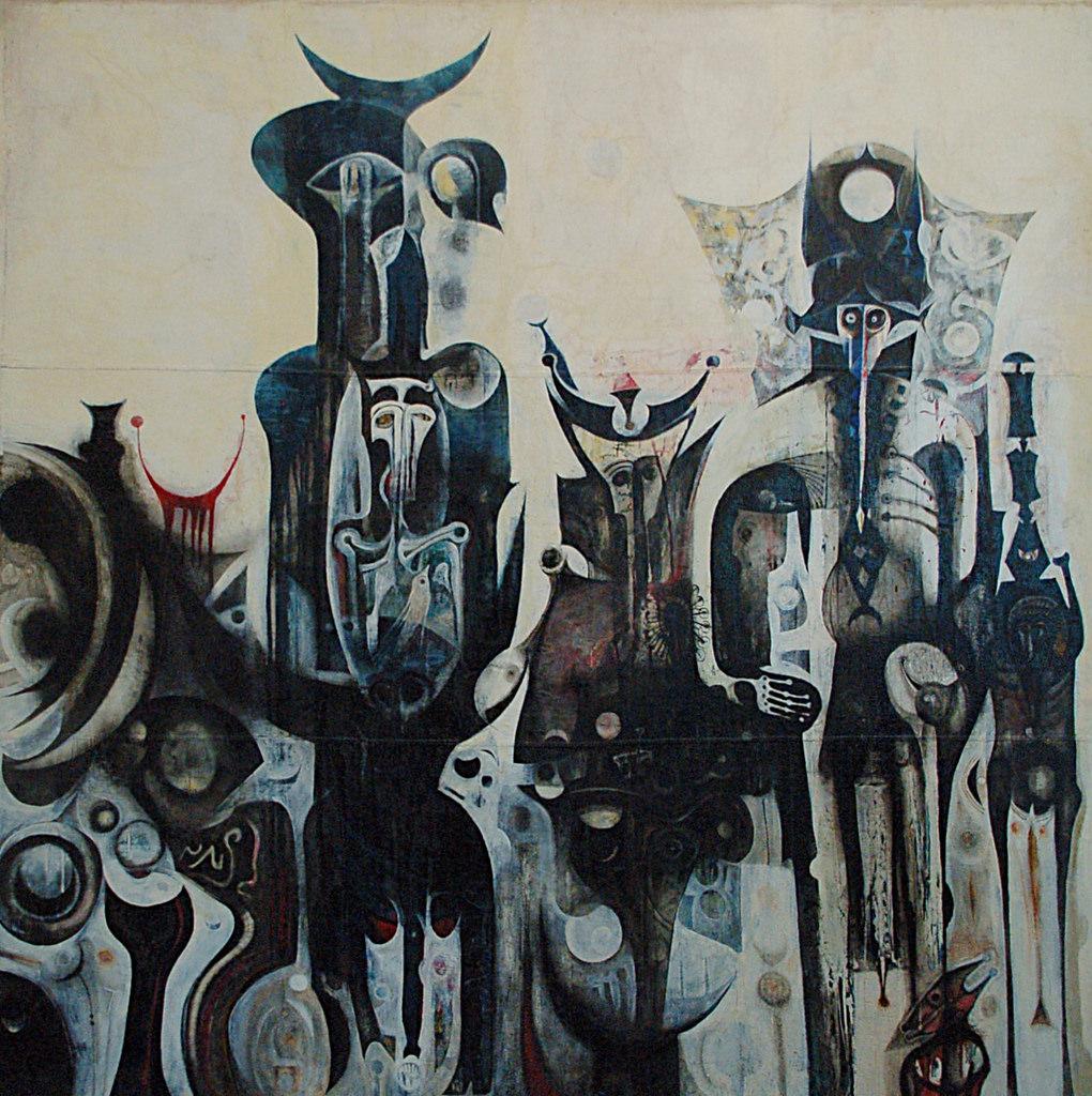 Картина художника Ибрагима эль-Салахи