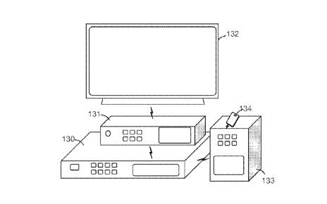 Схема изпатентной заявки Sony