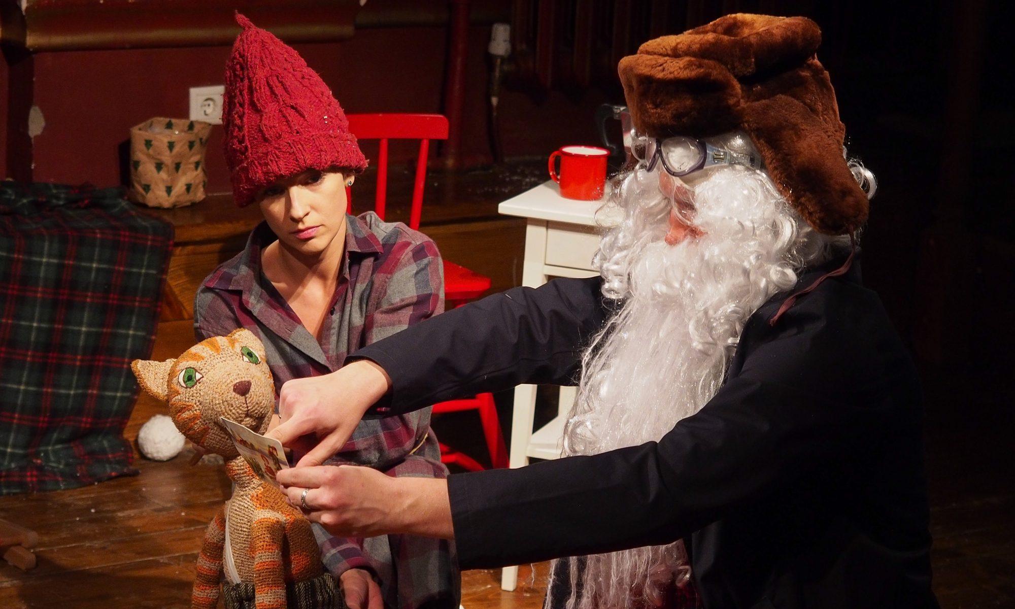 Финдус и механический Дед Мороз смотреть фото