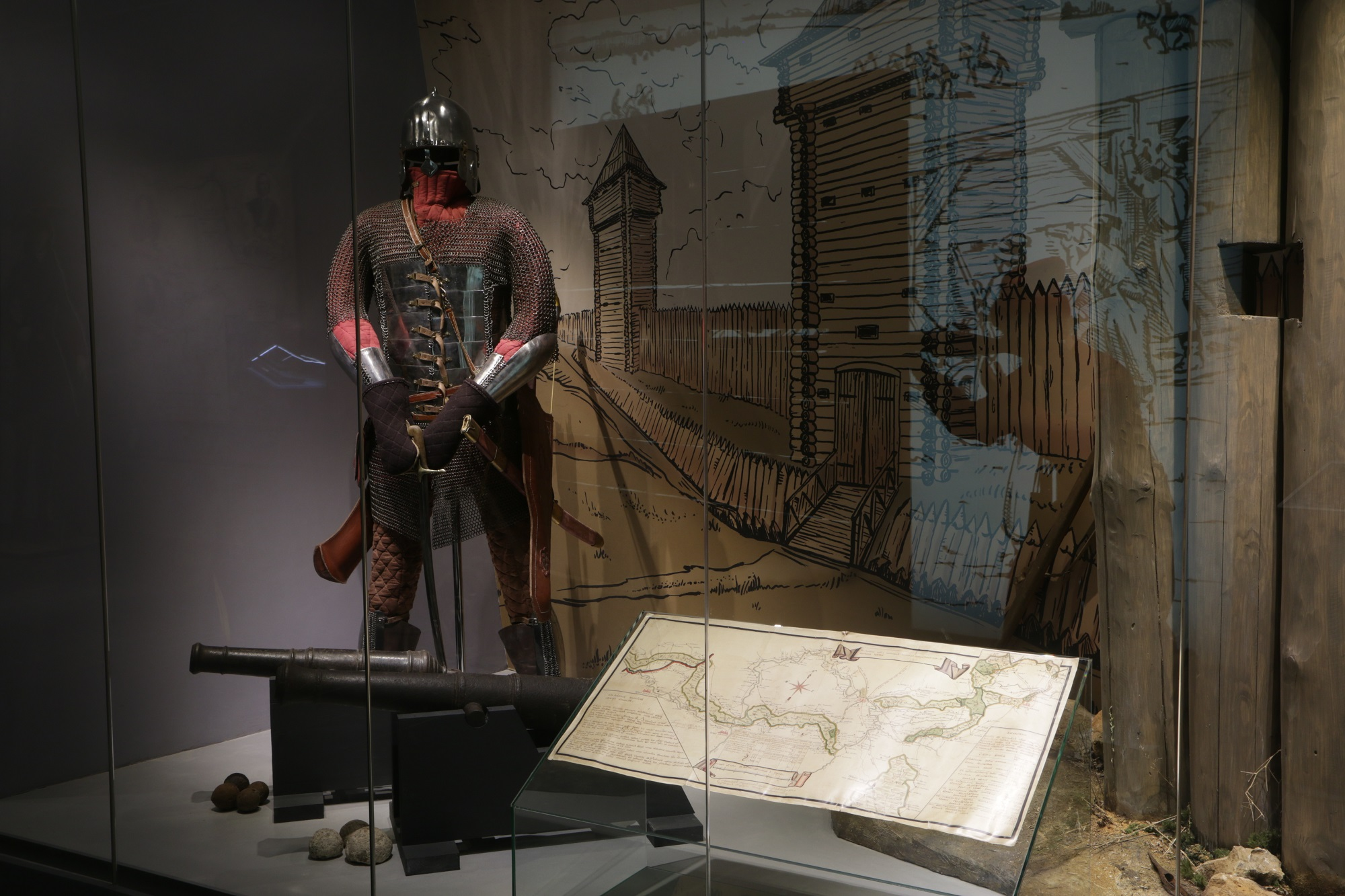 Экспозиция Тульского военно-исторического музея смотреть фото