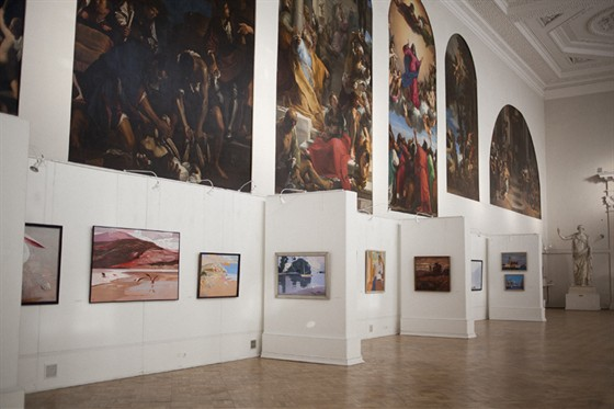Фото музей Академии художеств