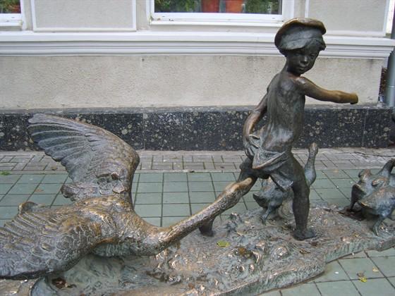 Фото памятник Нахаленку