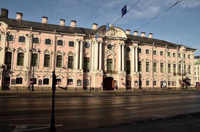 Фото строгановский дворец