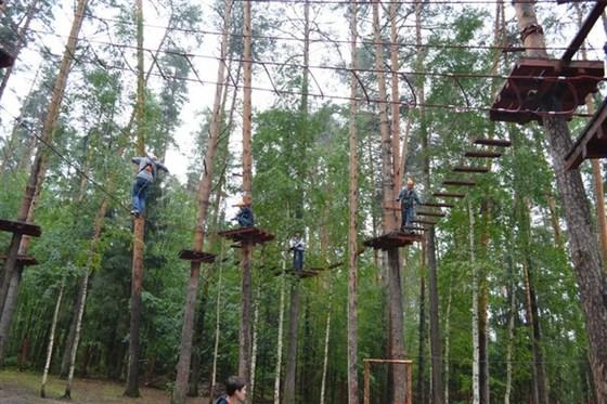 Фото веревочный парк «Ранчо»